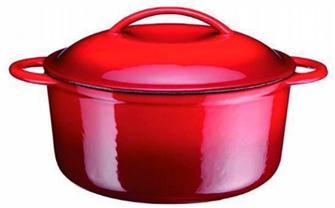 Cocotte en fonte ronde 23 cm 3 litres