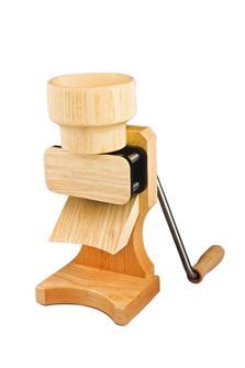 Floconneuse manuelle en bois