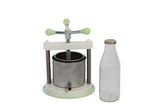 Pressoir à vis 1,6 litres inox