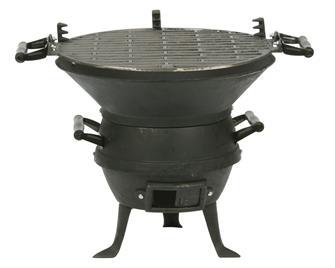 Barbecue braséro en fonte