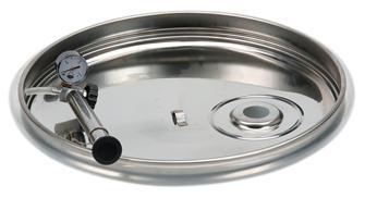 Couvercle à joint pneumatique pour cuve 100 litres