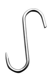 Crochet S à viande de 250x12 mm