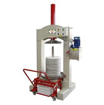 Pressoir à olives hydraulique électrique 60 kg/h