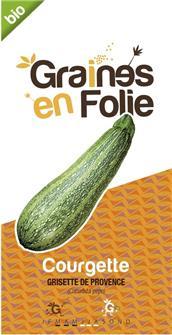Graines de courgette Grisette de Provence