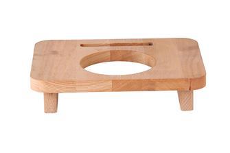 Support en bois 10 cm