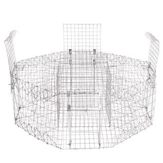 Cage à pies hexagonale 4 entrées