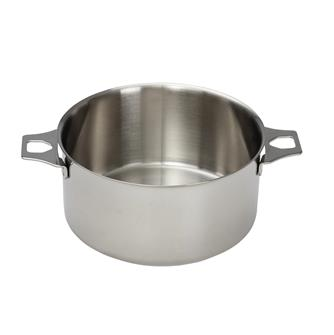 Casserole faitout inox induction 20 cm queue amovible