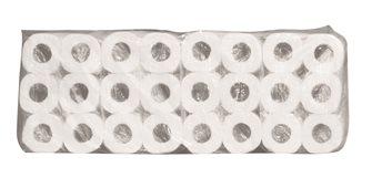 Lot de 96 rouleaux de papier toilette recyclé double épaisseur