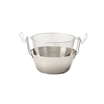 Friteuse 26 cm inox compatible induction