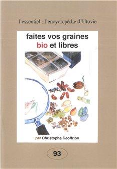Livre Faites vos graines bio et libres