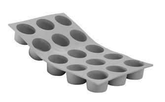 Moule silicone 15 mini muffins