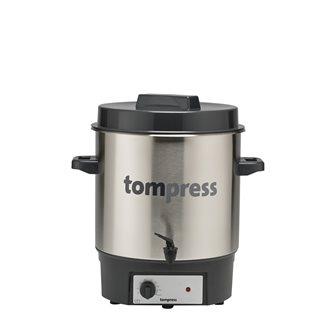 Stérilisateur électrique inox à robinet Tom Press pince à bocaux OFFERTE