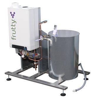 Pasteurisateur à jus à gaz 250 l/heure