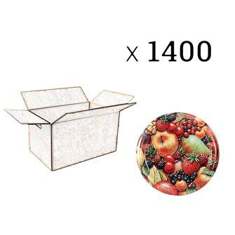 Capsules Twist-off confiture décors fruits Diam 63 par 1440