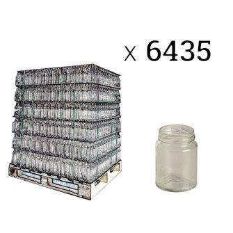 Cylindrical glass jar 106 ml per pallet 5940