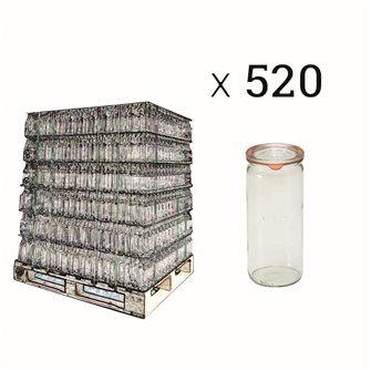 Bocal Weck 1 litre spécial asperges par palette de 520