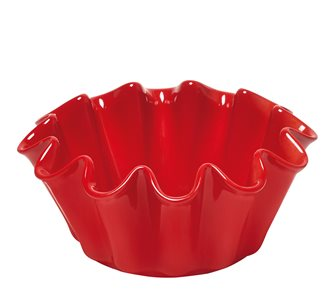 Moule à brioche Corolle céramique rouge Grand Cru Emile Henry