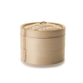 Cuiseur vapeur traditionnel en bambou de 10 cm de diamètre