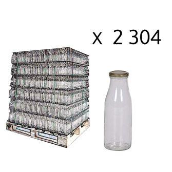 Bouteilles à jus de fruits, 1/2 l par palette de 2304 pièces