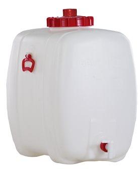 Cuve alimentaire rectangulaire de 150 litres