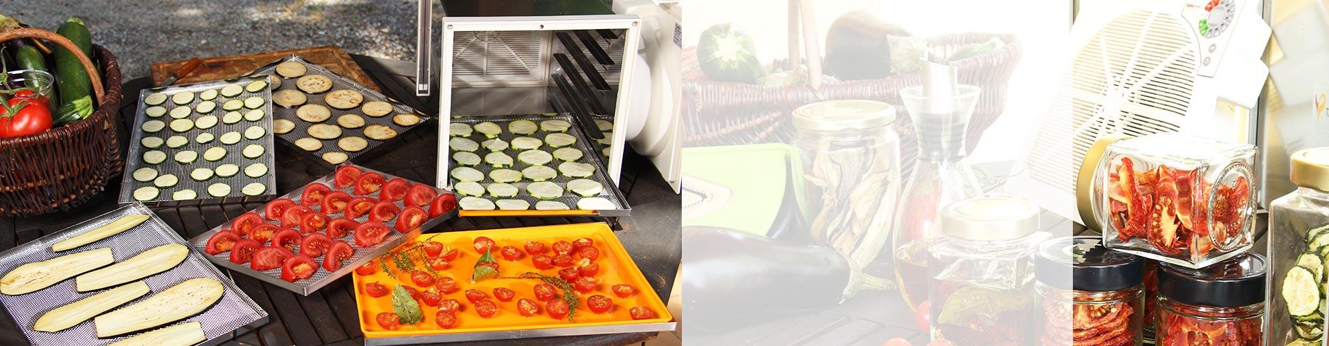 Déshydratez légumes et fruits